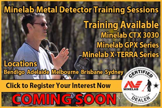 Miners Den Adelaide Metal Detector Training Sessions